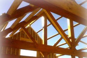 We do more than just timber frames, we do it all!  Plumbing Electrical Roofing Historical Restoration Custom Furniture Timber Frames Stick-built Homes  .....and much more!